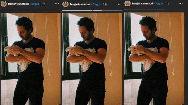 La China Suárez, anunció en su cuenta de Twitter el miércoles que dio a luz a su tercer hijo, el segundo que tiene conBenjamín Vicuña.
