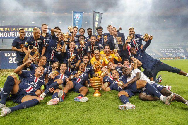 El PSG venció al Lyon y se quedó con la copa