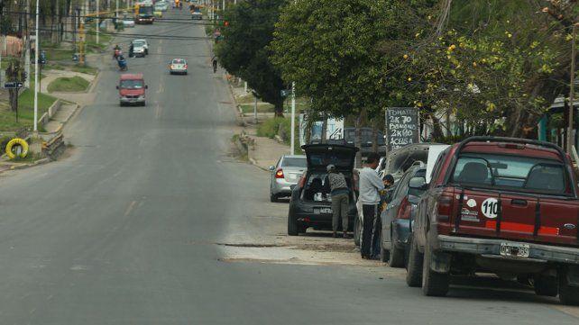 Avenida Don Bosco es una importante arteria de la ciudad.