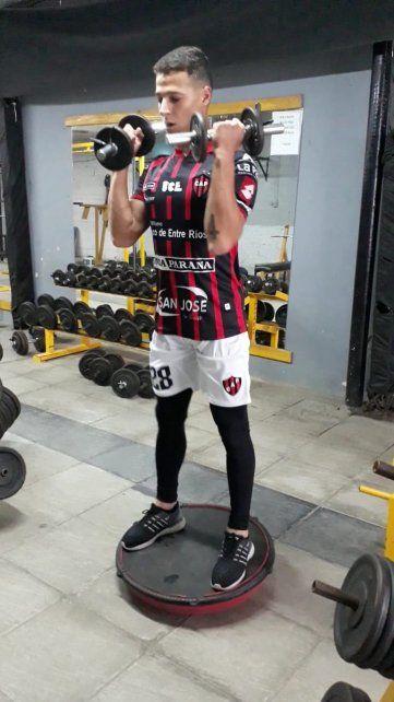 El 27 de febrero Juan Galetto efectivizó una de las metas mayores que se trazó desde que se trasladó desde María Grande hacia Paraná.