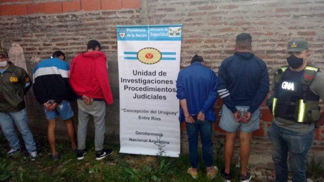 Cinco detenidos por integrar banda dedicada al narcomenudeo