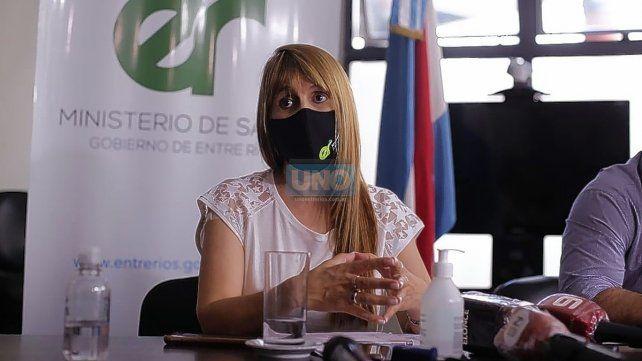 La ministra de Salud Sonia Velázquez presentó la renuncia
