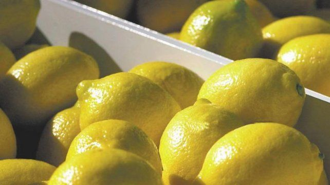 El cajón de limones llegó a costar 4 .000 pesos en el mercado mayorista.