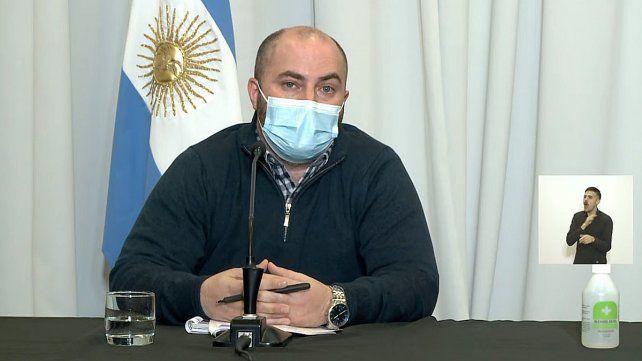 Bachetti confirmó la próxima vacunación contra el Covid-19 a entrerrianos de entre 18 y 29 años.